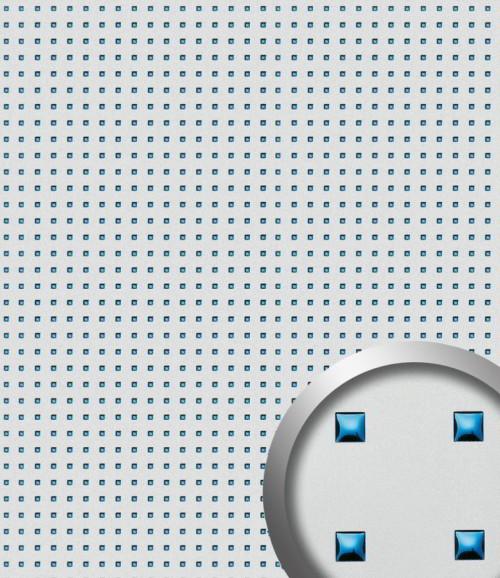 PL 3D Q-10-40-40 Silver PF met Blue