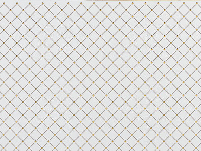 3D H-10-30 Pearl White PF/Gold Sheet