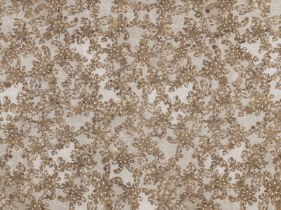 SG LACE White/Vintage Brown Sheet