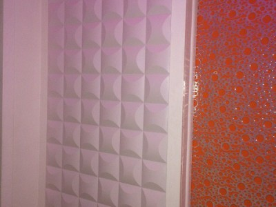 Installation of wavy wall panel #01086