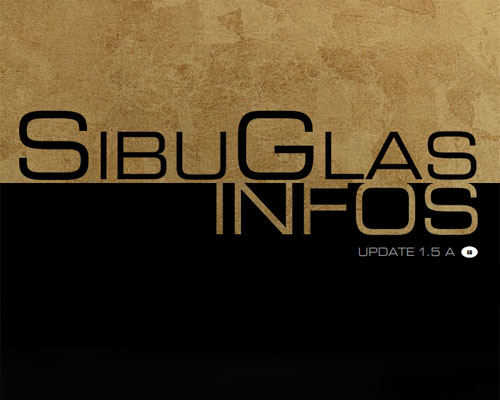 Information about technical innovations: SibuGlas
